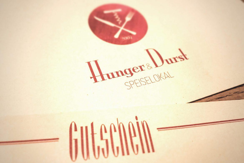 Gutschein Hunger & Durst